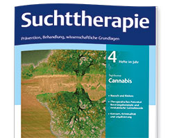 Cover Suchttherapie
