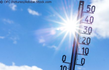 Thermometer in der Sonne © OFC Pictures/Adobe.Stock.com