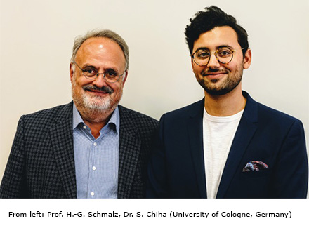 Prof. H.-G. Schmalz, Dr. S. Chiha (University of Cologne, Germany)