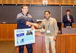 Science of Synthesis Poster Prize awarded to Priyabrata Ghana at ICHAC-12