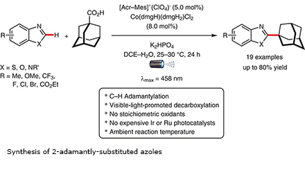 Synthesis of 2-adamantly-substituted azoles