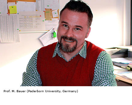 Prof. M. Bauer (Paderborn University, Germany)