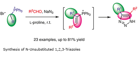 Synthesis of N-Unsubstituted 1,2,3-Triazoles