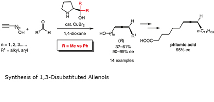 Synthesis of 1,3-Disubstituted Allenols