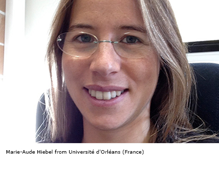 Marie-Aude Hiebel from Université d'Orléans (France)