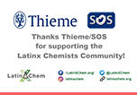 Thieme and Science of Synthesis are supporting LatinXChem