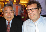 Professor Ei-ichi Negishi and Professor Paul Knochel